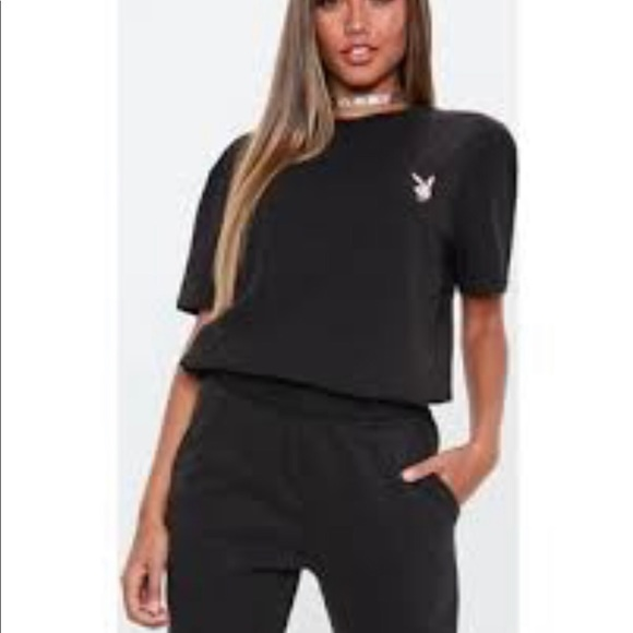 PLAYBOY Tops - Playboy Sold Out Nwt Tee Shirt Size 10